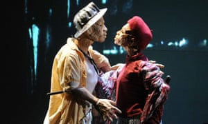 Woyzeck on the Highveld performed by Handspring Theatre Company at The Barbican