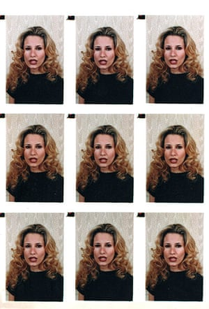 Gaddafi family photos: ID pictures of Gaddafi's daughter Aisha, found in a family album