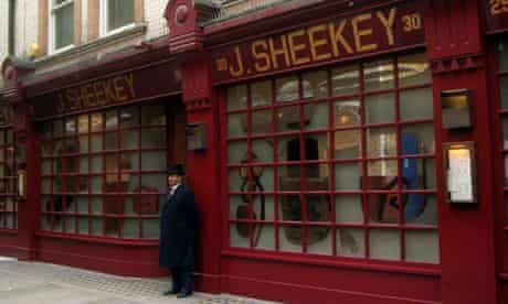 J Sheekey, London