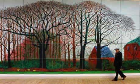 David Hockney in 2009