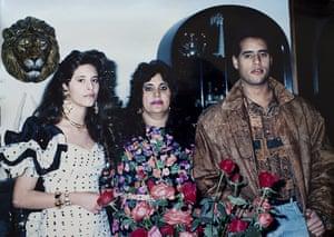 Gaddafi family photos: Muammar Gaddafi's family Eisha, Safiya Farkash and Seif al-Islam