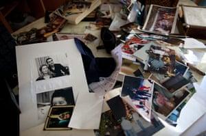 Gaddafi family photos: Photographs at the house of Aisha Gaddafi