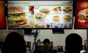McDonald's this week introduced calorie counts to its menus