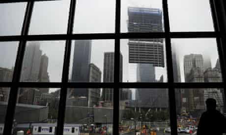 Ground Zero ahead of the 9/11 anniversary