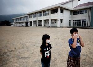 Fukushima: six months on: Fukushima: playground