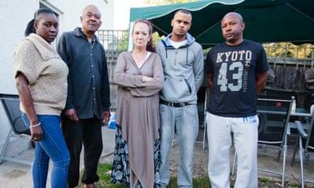 Mark Duggan's family