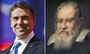 Rick Perry: a modern-day Galileo?