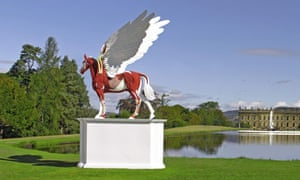 Damien Hirst's Legend at Chatsworth House