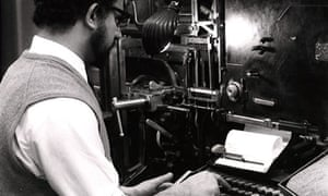 Education Centre 1961 linotype machine