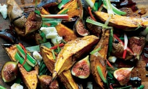 Yotam Ottolenghi's roasted sweet potatoes and figs