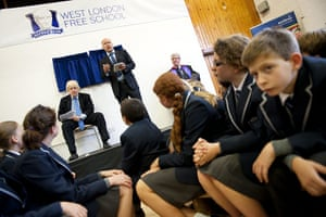 West London Free School: Toby Young gives a speech