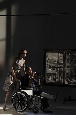 Harper's Bazaar: Rear Window with Michael Kors