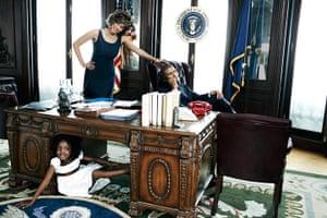 Harper's Bazaar: Tyra Banks in the White House