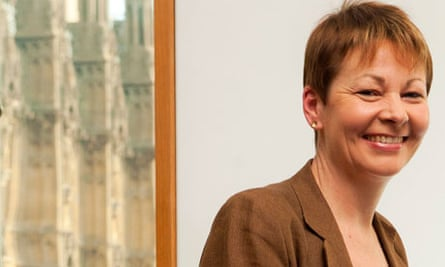 Caroline Lucas: 'I joined the Green party because I seriously wanted it to have influence'