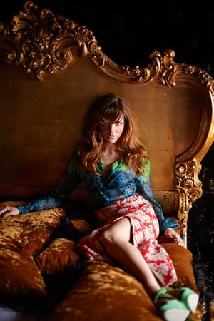 Ophelia Lovibond Velvet Revolution Life And Style The