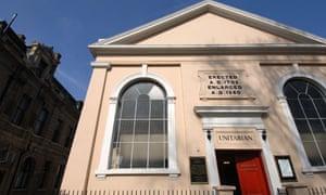 The Unitarian Chapel in Newington Green, Stoke Newington, London