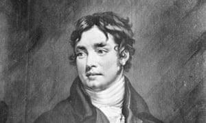 A painting of Samuel Taylor Coleridge