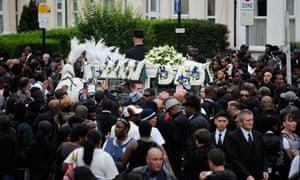 mark duggan's funeral