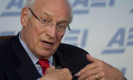 Former US vice-president Dick Cheney