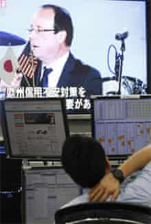 The election of François Hollande in France and the Greek election result put Asian markets in a spin