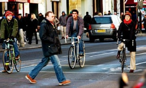 Bike blog: cyclists at junction