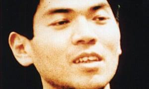 Makoto Hirata, a former member of the Aum Shinrikyo cult