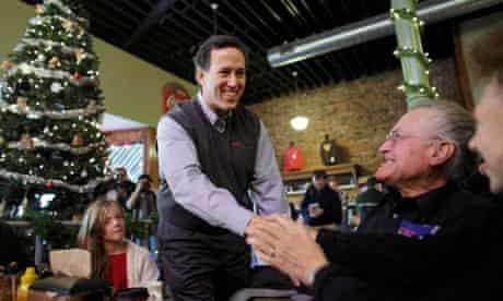 Rick Santorum in Iowa