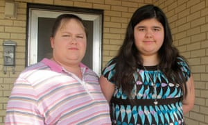 Jennifer Rambo (left) and her daughter Sarah Bustamentes, who was charged with 'disrupting class'