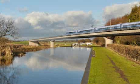 Business backs high-speed rail link