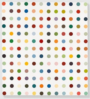 Damien Hirst at Gagosian: Damien Hirst - Complete Spot Paintings at Gagosian - Methoxyverapmil