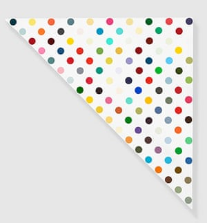Damien Hirst at Gagosian: Damien Hirst, Complete Spot paintings at Gagosian, Leverphanol