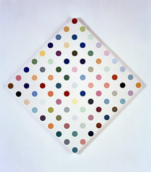 Damien Hirst at Gagosian: Damien Hirst, Complete Spot Paintings at Gagosian, Eucatropine