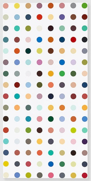 Damien Hirst at Gagosian: Damien Hirst, Complete Spot Paintings at Gagosian, Famotidine