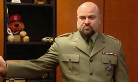Polish colonel Mikolaj Przybyl