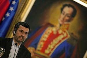 Ahmadinejad visits Chávez: Mahmoud Ahmadinejad visits Venezuela