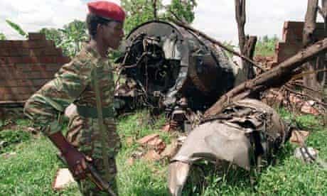 rwanda plane crash