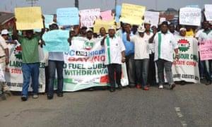 Nigeria fuel protest