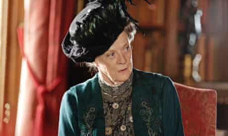 Downton Abbey ... Maggie Smith as the Countess of Grantham