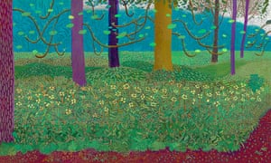 Hockney: Bigger Picture: Under the Trees, Bigger 2010-11, by David Hockney