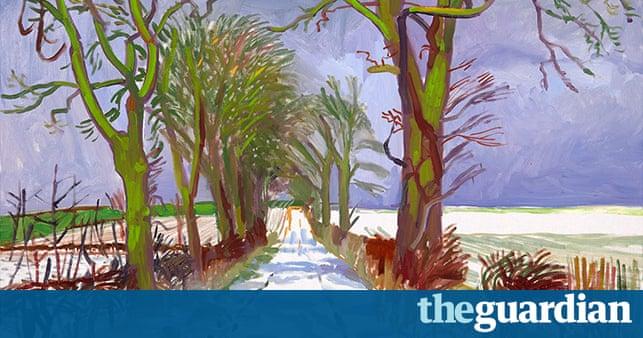 Natural Phenomena David Hockney At The Royal Academy In
