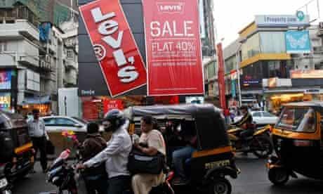 Street scene in Mumbai