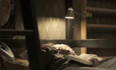 The bedside.
