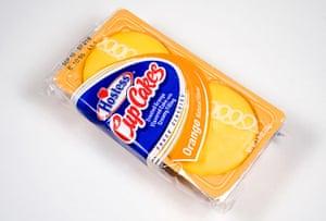 Hostess Snacks: Orange Cupcakes