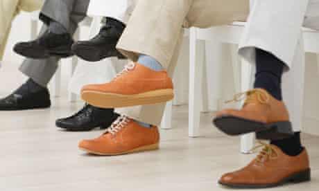Men wearing socks