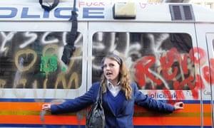 Megan Thomas student riots 2011