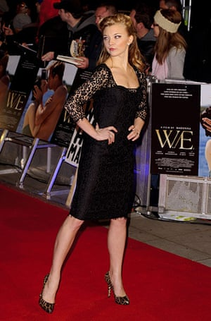 W.E Film premiere: W.E directed by Madonna, UK film premiere