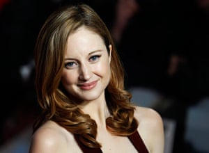 W.E Film premiere: Actress Andrea Riseborough arrives for the premiere of Madonna's film W.E.