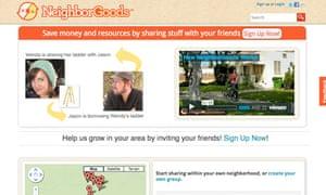 NeighborGoods website