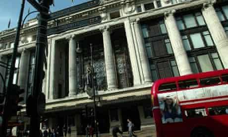 Selfridges on Oxford Street