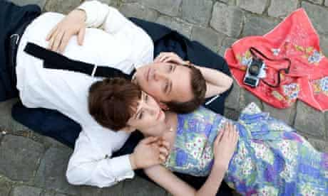 Mulligan with Peter Sarsgaard in An Education.